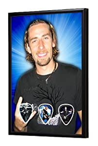 Nickelback Chad Kroeger (WK) Live Performance Framed Guitar Pick Display