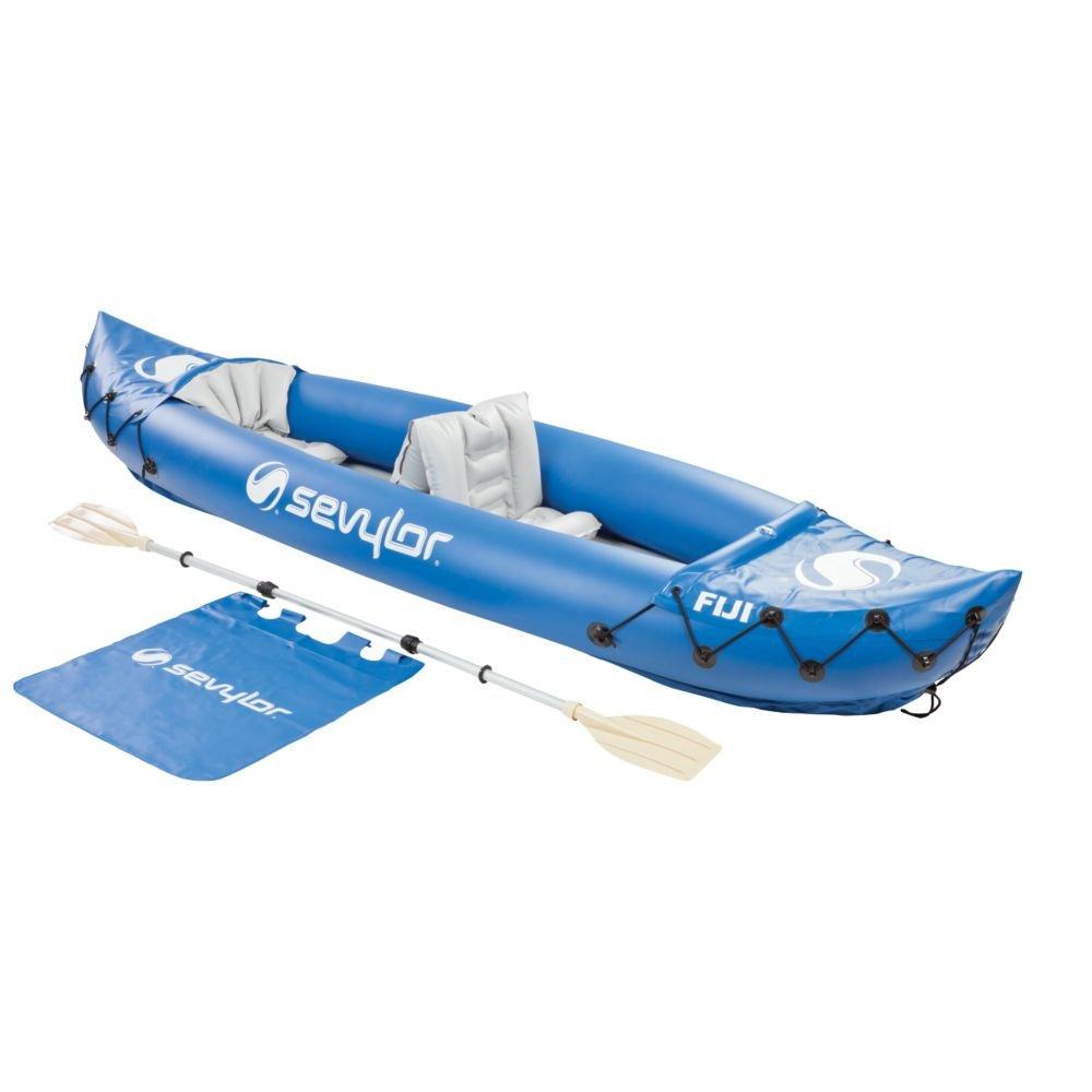 Sevylor kayak person fiji kayaks 2 sea sport river ocean for 2 man fishing kayak