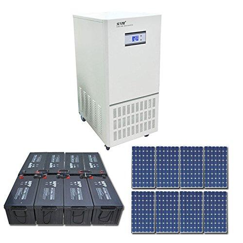 Suvpr 6000W 96V Off-Grid Solar System Pure Sine Wave Solar Power System