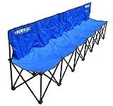 Kwik Goal 6-Seat Kwik Bench - Blue