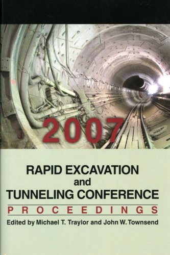Rapid Excavation And Tunneling Conference 2007 Proceedings front-151087