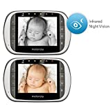 Motorola-MBP853CONNECT-2-Dual-Mode-Baby-Monitor-with-2-Cameras-and-35-Inch-LCD-Parent-Monitor-and-Wi-Fi-Internet-Viewing