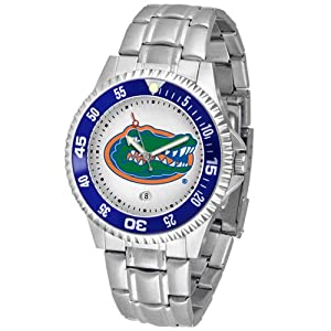 Florida Gators NCAA Competitor Mens Watch (Metal Band) by SunTime