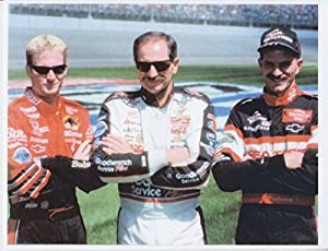Amazon.com: Earnhardt Family with Dale, Dale Jr., and Kerry 8x10 Photo