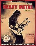 echange, troc Jon Chappell - Partition : Methode de heavy metal les bases + cassette audio