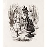 Alice and the Red Queen, by John Tenniel (V&A Custom Print)