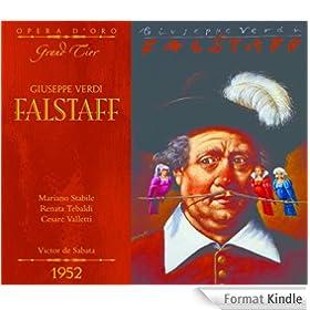 OPD 7041 Verdi-Falstaff: Italian-English Libretto (Opera d'Oro Grand Tier) (English Edition)