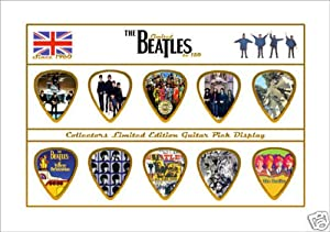 Beatles Limited to 150 Guitar Pick Set Display