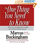 The One Thing You Need To Know: ...Ab...