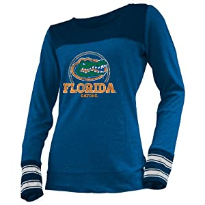 NCAA Florida Gators Ladies Striped Long Sleeve Tee by Ouray Sportswear