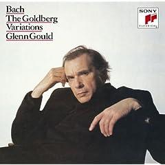 グールド独奏 バッハ:ゴールドベルク変奏曲(1981年デジタル録音) の商品写真