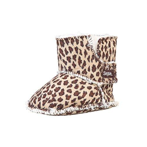 Dettagli SEGUE Moon Baby stivali invernali stivali stivaletti Uomo taglia M/L/Beige regalo Confezione Leopard