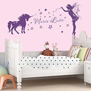 D co chambre licorne for Decoration licorne chambre