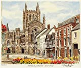 Portrait of Britain, Hereford - Cathedral, Hereford & Worcestershire, Framed