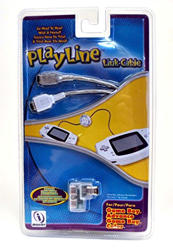 InterAct PlayLine Link Cable GBA Game Boy Color/Advance SP WHITE port shark (Gameboy Color Gameshark compare prices)
