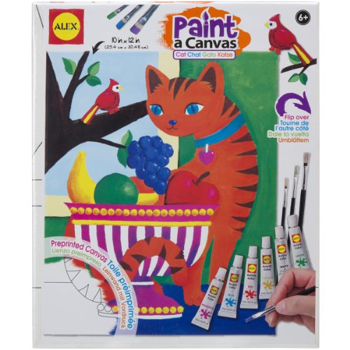 ALEX Toys Artist Studio Paint A Canvas Cat - 1