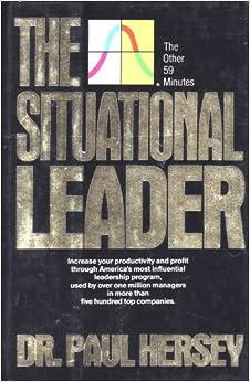 Paul hersey and ken blanchard situational leadership book