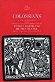Colossians (The Anchor Yale Bible Commentaries)