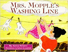 mrs mopple 39 s washing line red fox picture books amazon. Black Bedroom Furniture Sets. Home Design Ideas