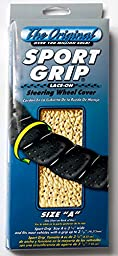 Superior 58-0450T Sport Grip Steering Wheel Cover, Size \
