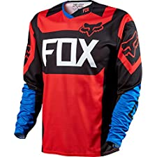 Fox Head Men's Demo Long Sleeve Jersey Blue/Red
