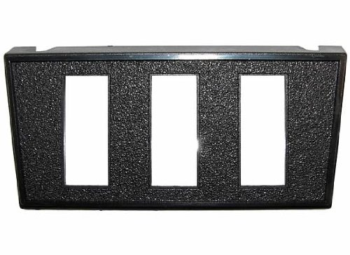 """Jt&T Products (2954F) - Switch Panel Mount With Three 7/16"""" X 1 1/8"""" Rectangular Slots"""