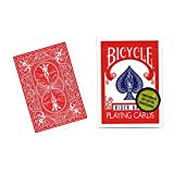 MMS Bicycle Playing Cards (Gold Standard) - RED BACK by Richard Turner - Trick