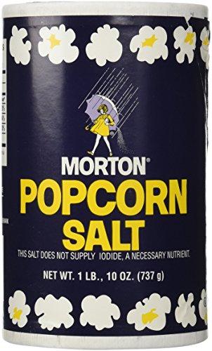 1Lb 10oz Morton Popcorn Salt For Green Salad, Corn on the Cob, French Fries, Nuts (Salt Popcorn compare prices)