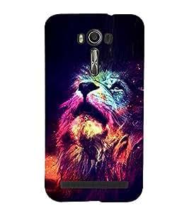 EPICCASE Majestic lions Mobile Back Case Cover For Asus Zenfone Go (Designer Case)