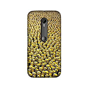 Thestyleo Designer Printed Mobile Back Cover For Moto G Turbo (Tempered Glass Free)