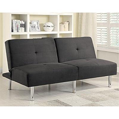 Microfiber Tufted Sofa Bed