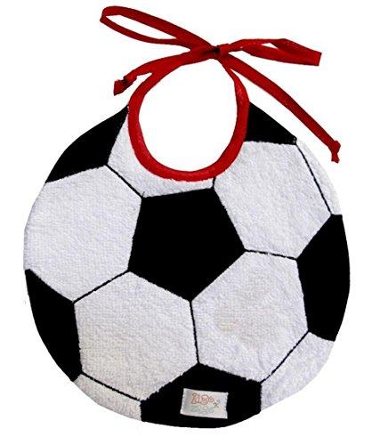 Zigozago - Lätzchen Fußball mit elastischen