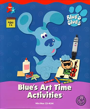 Blue's Art Time Activities