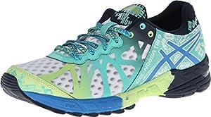 ASICS Women's Gel-Noosa Tri 9 Running Shoe,White/Electric Blue/Mint,9 M US