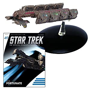 Star Trek Starships ECS Fortunate Vehicle with Collector Magazine