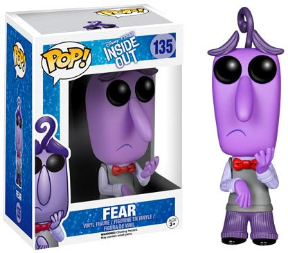 Inside Out Fear Disney-Pixar Pop! Vinyl Figure - 1