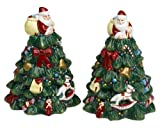 Spode World of Christmas Figural Salt and Pepper Shakers, Set of 2