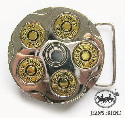 belt buckles men western cowboys cool vintage harley gun chamber gold bullets 0