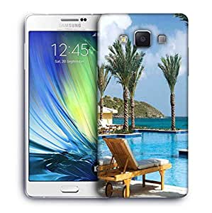 Snoogg Tree In The Pool Designer Protective Phone Back Case Cover For Samsung Galaxy ON5