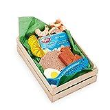 Erzi Sortiment - Caja con alimentos de juguete