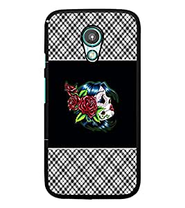 PrintDhaba Flowers D-4679 Back Case Cover for MEIZU M1 NOTE (Multi-Coloured)