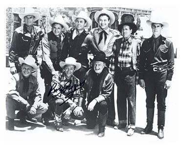 The Cast Of Bells Of San Angelo With Roy Rogers