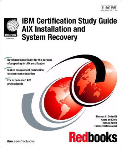 IBM Certification Study Guide Aix Installation and System Recovery