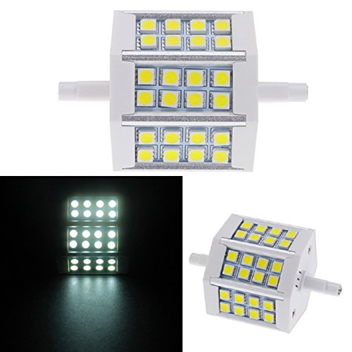 Suppion R7S 5W 24 Smd 5050 Leds Corn Light Bulb Lamp Energy Saving (Pure White)