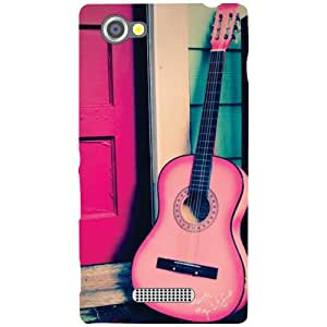 Printland Guitar Phone Cover For Sony Xperia M