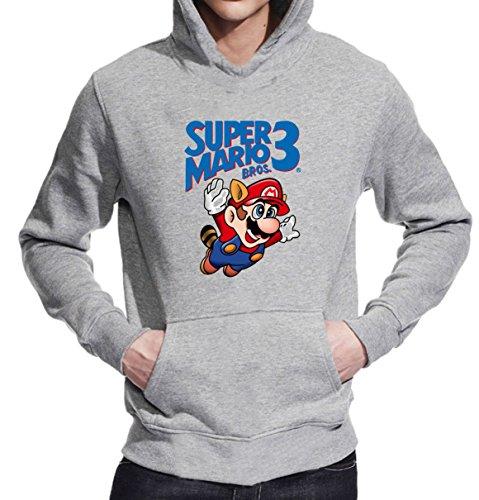 Super Mario 3 T-Shirt Unisex Pullover Hoodie XX-Large