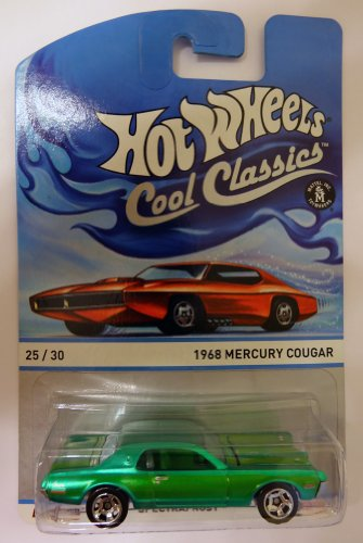 Hot Wheels Cool Classics 1968 Mercury Cougar (25/30) - 1