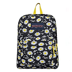 JanSport SuperBreak Backpack (Black Lucky Daisy)