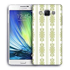 Snoogg Lite Green Pattern Printed Protective Phone Back Case Cover For Samsung Galaxy A7