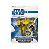 Star Wars TRANSFORMERS CROSSOVERS Jedi Starfighter to Anakin Skywalker